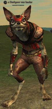A Darkpaw war leader