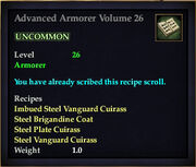 Advanced Armorer Volume 26