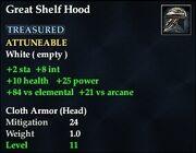 Great Shelf Hood