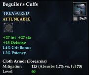 Beguiler's Cuffs