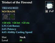 Trinket of the Firesoul