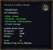 Orclord Leather Boots