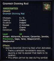 Gnomish Divining Rod