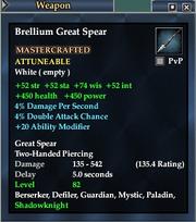 Brellium Great Spear
