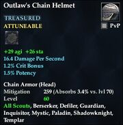 Outlaw's Chain Helmet