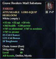 Grave Feeders Mail Sabatons