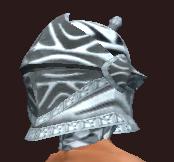 Myrmidon's Barbute of the Citadel (Equipped)