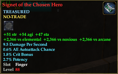 Signet of the Chosen Hero