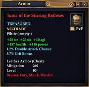 Tunic of the Stirring Reflexes
