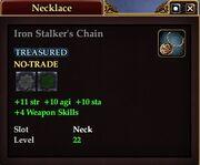 Iron Stalker's Chain