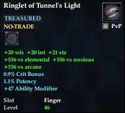 Ringlet of Tunnel's Light