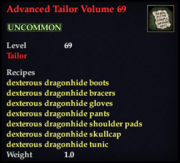 Advanced Tailor Volume 69