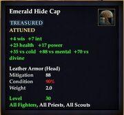 Emerald Hide Cap