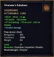 Overseer's Sabatons