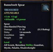 Funnelweb Spear