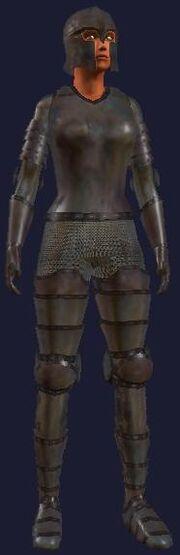 Qeynos guard ceremonial (female)