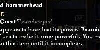 A discarded hammerhead