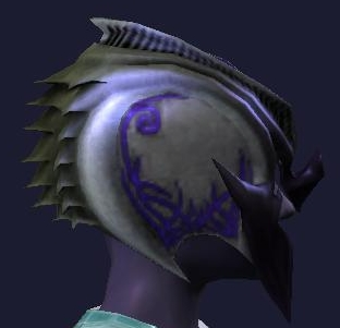 Blighted Helm of Pestilence (Side)
