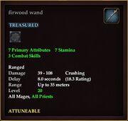Firwood wand