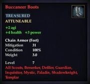 Buccaneer Boots (Level 7)
