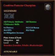 Combine Protector Chestplate