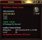 Ok'Mar's Dusty Tunic