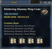 Moldering Mummy Wrap Crate