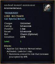 Undead mount summoner