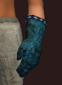 Untamed Wanderer's Leather Gloves (Equipped)