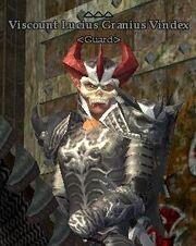Viscount Lucius Granius Vindex