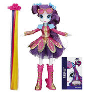 Rainbow Rocks Rarity Rockin' Hairstyle doll