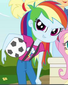 Rainbow Dash freshman ID EG