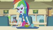 Rainbow Dash yells at Pinkie EG2