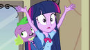 Twilight hears the school bell again EG