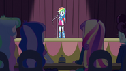 Rainbow Dash in front of microphone EG3