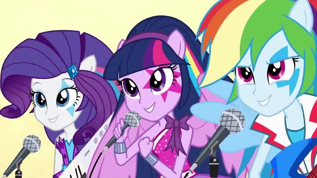 File:Twilight, Rarity, and Rainbow singing EG2.png