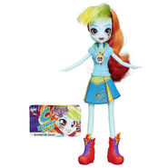 Friendship Games School Spirit Rainbow Dash doll