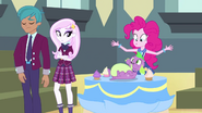 Pinkie sees Spike ate all the snacks EG3b