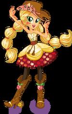 Applejack Rainbow Rocks character bio art (v3)