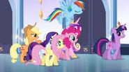 Applejack teasing Twilight EG