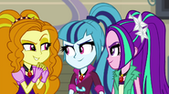 The Dazzlings looking sinister EG2