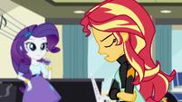 "Sunset ""this isn't Equestria"" EG3"