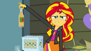 Sunset Shimmer hates apple cider EG