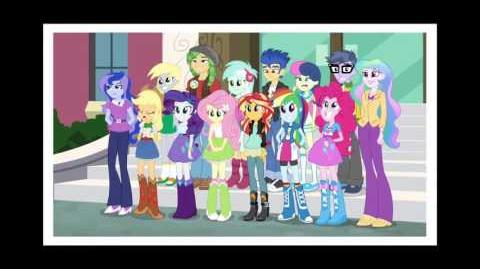 Equestria Girls Friendship Games - Right There In Front Of Me (Slovenian)