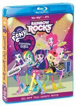Equestria Girls Rainbow Rocks Blu-ray cover sideview