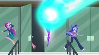 Cadance and Luna running away EG3