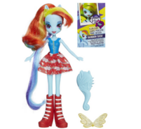 Equestria Girls Rainbow Dash standard doll