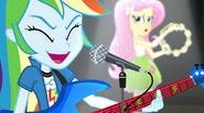 """Rainbow Dash and Fluttershy """"Hey! Hey!"""" EG2"""