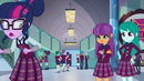 Sci-Twi walking away from snobby Crystal Preppers EG3
