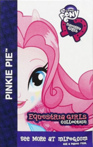 Pinkie Pie Equestria Girls Collection card